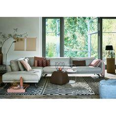 Byen Lounge bank - hoekopstelling (dormeuse) - Design on Stock. Ontwerper: Studio Foorumi.
