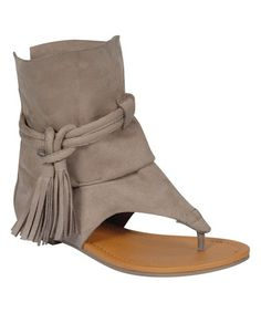Love this Taupe Hiccup Sandal on #zulily! #zulilyfinds