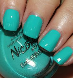 Nicole by OPI Teal Me Something New