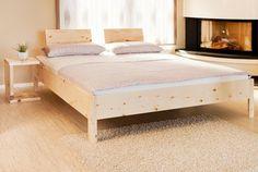 Betten   Zirbenholzbett 180 X 200 Cm Metallfrei   Ein Designerstück Von  Geborgenschlafen_de Bei DaWanda