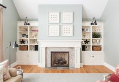 My Houzz: Traditional Home With Cottage Flair - traditional - living room - Becki Peckham