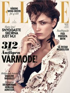 Stina Olsson for Elle Sweden by Andreas Sjodin