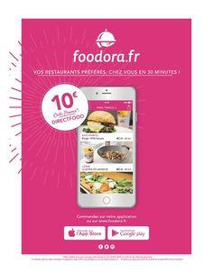 foodora europe free credit flyer
