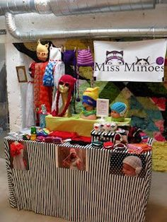 Craft Fair display ideas- Stand of Ama de Jong