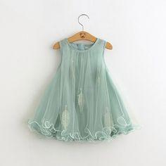 Детское платье воздушное