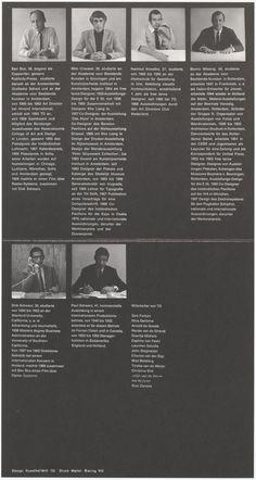 TD stellt aus in der Galerie Intergraphic im BMW Pavillon am Lenbachplatz in M¸nchen – 1968 – Bron: TD03611 – #totaldesign