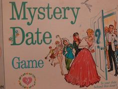 Mystery Date Board Game - will he be a dream ... or a dud?