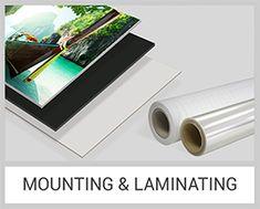 Mounting and Laminating