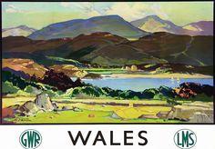 #Vintage #UK #travel #poster #GWR