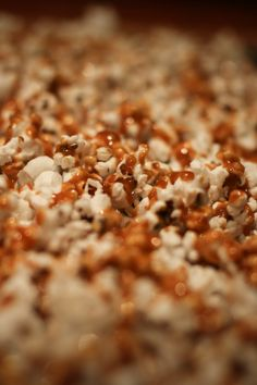 Salty Caramel Corn for a Crowd