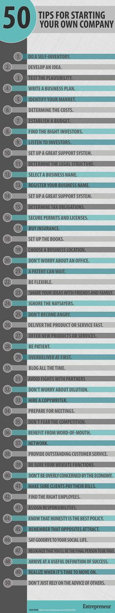 50 Tips for starting your own #company http://www.smartseoservice.com/convert-web-traffic-into-sales-or-leads/