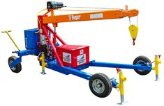Our Construction Loader Mounted Cranes offer maximum mobility and reliability for on and off loading challenging cargo. Welding Projects, Diy Wood Projects, Cool Tools, Diy Tools, Lifting Devices, Crane Lift, Crane Design, Custom Trailers, Welding And Fabrication