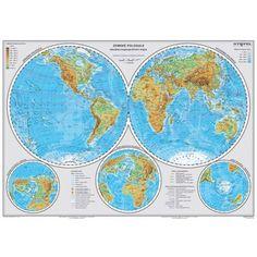Zemské pologule Diagram, World, Geography, The World