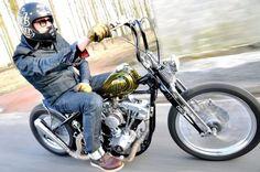 Chopper custom biker style