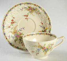 Crown Ducal Chatham Oversized Cup & Saucer Set