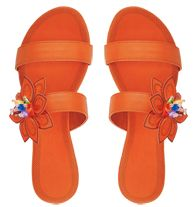 Floral Slide Sandal  SALE $16.99 until June 3 at www.YourAvon.com/cvmack.