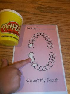 Amazing Action Alphabet: T Day ...Play-Doh Teeth