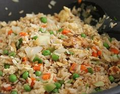 How To Cook Brown Rice - Vegetable Fried Rice and Kimchi Fried Rice Recipes - Jeanette's Healthy Living Vegetarian Fried Rice, Making Fried Rice, Vegetarian Chicken, Vegetable Fried Rice, Fried Vegetables, Chinese Vegetables, Healthy Chicken, Vegetable Recipes, Stir Fry Recipes