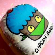 Girlzlyfe.Com - Cupcake Bandit Plushie - Handmade, $5.99