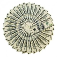 I am abundance! Add this money wheel to your visualization board!
