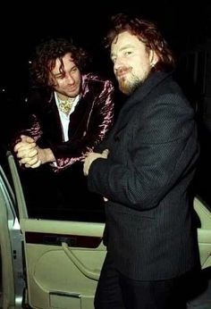 Bono & Michael Hutchence