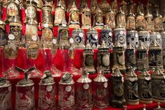 Christkindlmarket, Chicago: America's Most Authentic German Christmas Market which has to German beer steins. Chicago Movie, Chicago Map, Chicago Hotels, Chicago Shopping, Chicago Travel, Chicago Restaurants, Chicago Christmas Tree, Christmas Tree Ornaments, Christmas Decorations