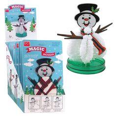 Do-It-Yourself Magic Growing Snowman