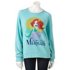 "Mighty Fine Disney ""The Little Mermaid"" Sweatshirt - Juniors"