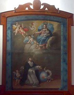https://flic.kr/p/8mFWWD | La Virgen del Rosario con Sto Domingo, Templo Conventual Dominico de San Pablo de los Frailes, Cdad. de Puebla, Pue.