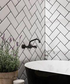 Topps Tiles - Metro White Tile. £19.50 per sq m