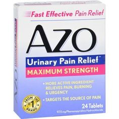 Azo Bladder Control Pills are as good as a placebo pill ...