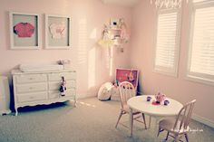 Twin toddler girls room