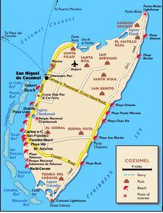 Playa Punta Morena cozumel mexico   Lugares Turísticos de Cozumel