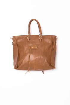 The City Tote - Camel | a-thread