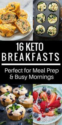 Need easy keto diet breakfast recipes? These ketogenic breakfasts are the best for weight loss on keto! Add to your weekly meal now! 16 delicious low carb casseroles and yummy egg muffins that you can put together in minutes & grab on the go! These keto b Ketogenic Breakfast, Banting Breakfast, Starting Keto Diet, Low Carb Casseroles, Keto Meal Plan, Ketogenic Recipes, Meal Recipes, Pasta Recipes, Ketogenic Diet For Beginners