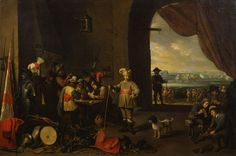 The Guardroom by David Teniers c.1642