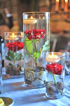 Beautiful Ways To Use Candles At Your Wedding ❤ See more: http://www.weddingforward.com/wedding-ideas-with-candles/ #weddings