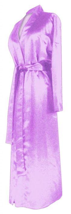 Navy Satin Plus Size Supersize Womens Robe