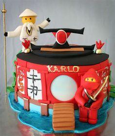 Delana's Cakes: Lego Ninjago Cake