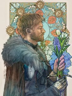 Jaime Lannister, an art print by Mona Fuchs Jaime Lannister, an art print by Mona Fuchs – INPRNT More from my site Jaime Lannister, Game of Thrones, art print Original Cinema Painting by Pechane Sumie Jaime Lannister, Jaime And Brienne, Dessin Game Of Thrones, Got Game Of Thrones, Fantasy Books, Fantasy Art, Art Nouveau, Game Of Trones, Fan Art