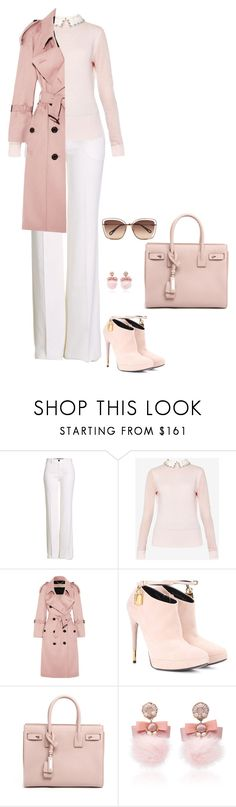 """""""Untitled #93"""" by yasminkoff ❤ liked on Polyvore featuring Roberto Cavalli, Ted Baker, Burberry, Tom Ford, Yves Saint Laurent, Ranjana Khan and Chloé"""