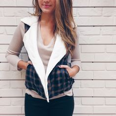 Crown Vest • Women's Fallfashion • Plaid • Vest