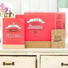Kit madre - En esta caja no caben  todos los besos que te mereces