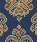 Upholstery Fabric-Waverly Focal Point Indigo