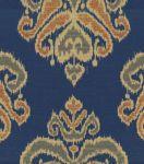 Upholstery Fabric-Waverly Focal Point Indigo