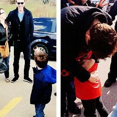 "Tom Hiddleston with his family | durance:tom hiddleston alphabet | k | kids""[The doctor] was knocking ..."