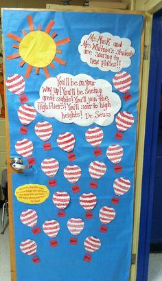Our class room door for Dr. Seuss week!! | school stuff | Pinterest