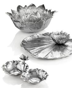 Michael Aram Serveware, Macy's Exclusive Lotus and Lily Collection - Serveware - Dining & Entertaining - Macy's