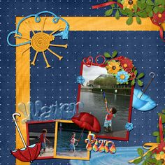 Water fun, created with Puddle Jumpers by Kristmess Designs