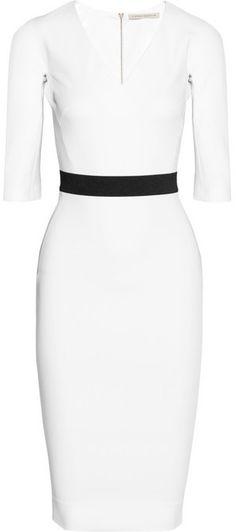 Victoria Beckham Stretch cotton-blend dress